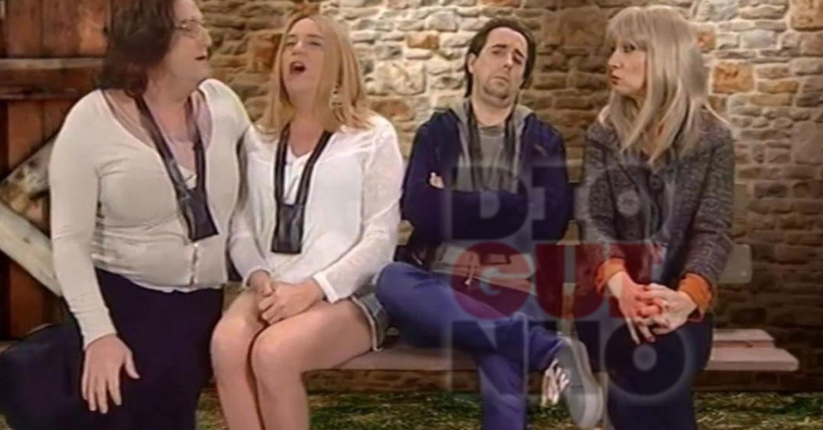 Photo of Bernardina, Tiago e Rosa Branca no palheiro – DDT