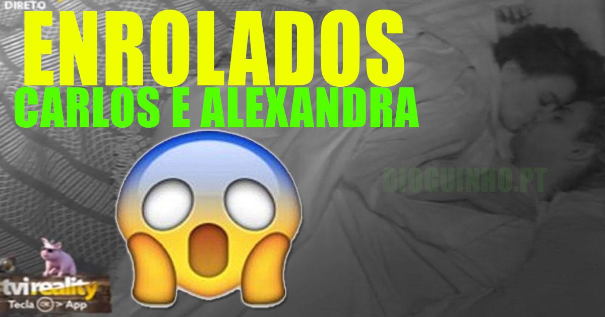 Photo of OMG: Carlos e a Alexandra a roçar, íntimos e beijos