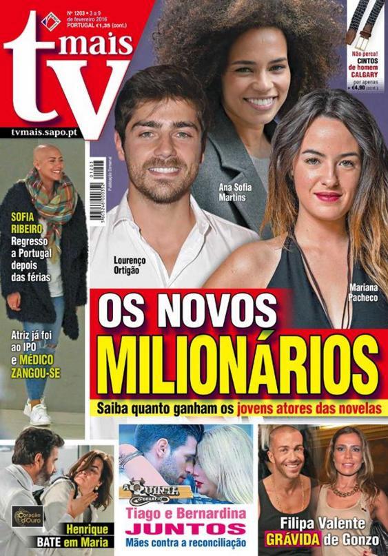 Jovens actores que ganham milhares de euros