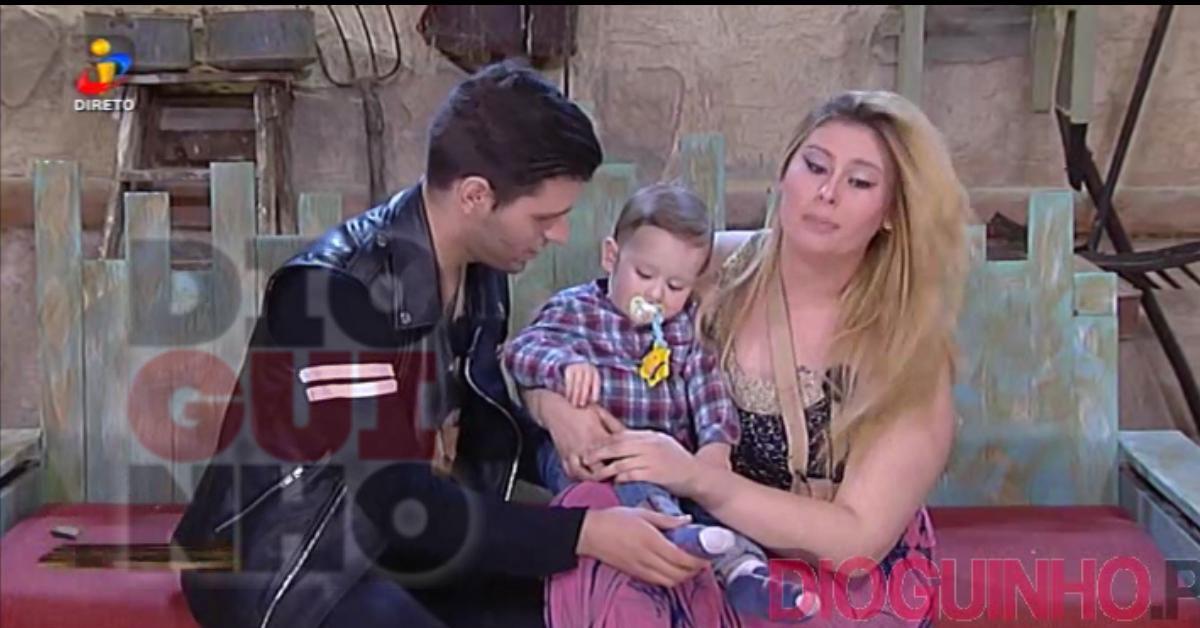 Photo of Tiago Ginga e Bernardina recebem o filho no Palheiro