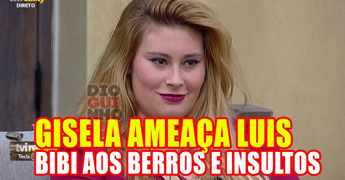 Photo of Bernardina Brito aos berros e gritos. Gisela AMEAÇOU o Luís
