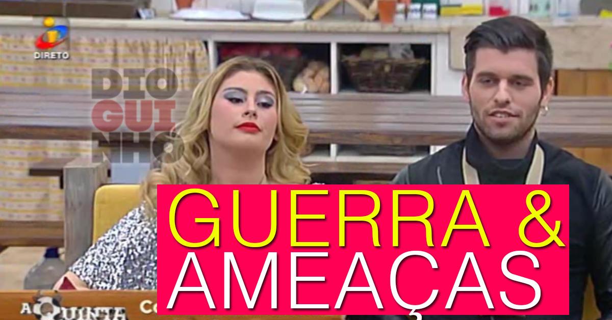Photo of Angélica entra na quinta e Bernardina ameaça e manda bocas