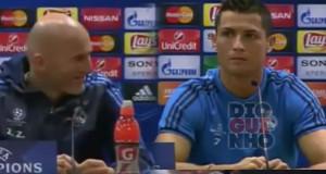 Cristiano Ronaldo abandona conferência de imprensa