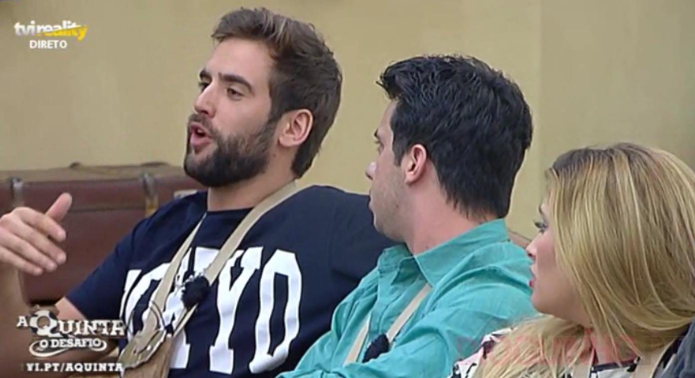 Photo of Cadeira Quente foi curta, mas Diogo e Luís Nascimento discutiram
