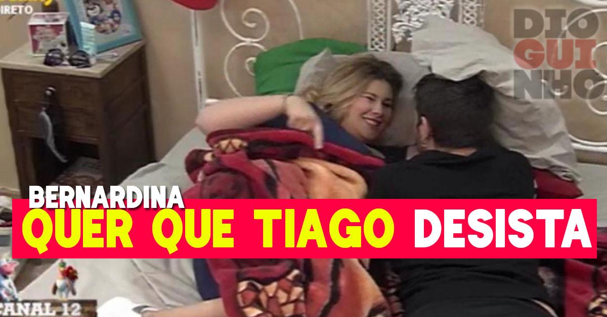 Photo of Bernardina Brito quer que Tiago Ginga desista