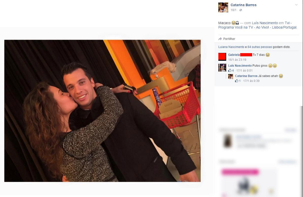 Luís Nascimento tem nova namorada.