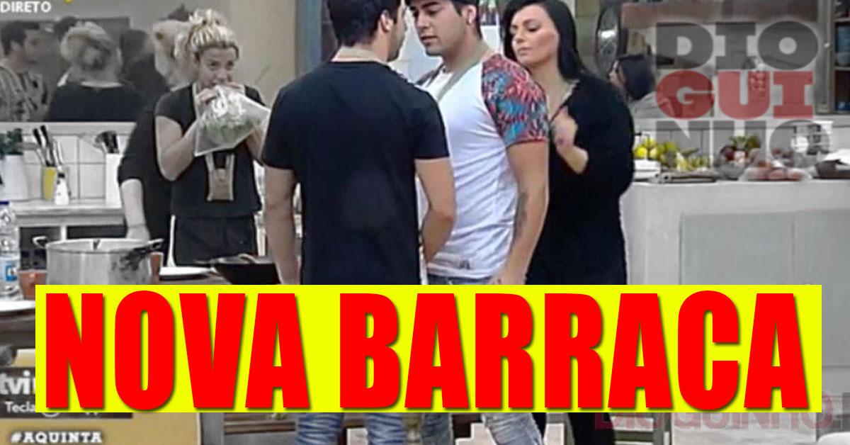 """Photo of Daniel e Luís Nascimento desentendem-se e quase que deu """"molho"""""""