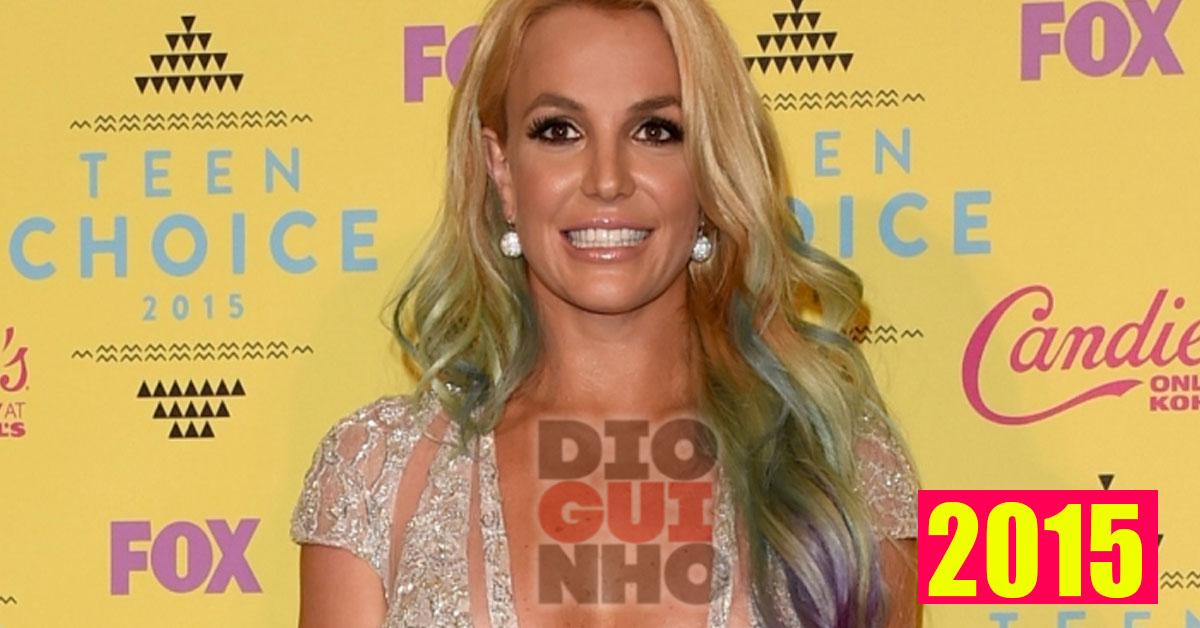 Britney Spears aparece com grandes alterações à cara