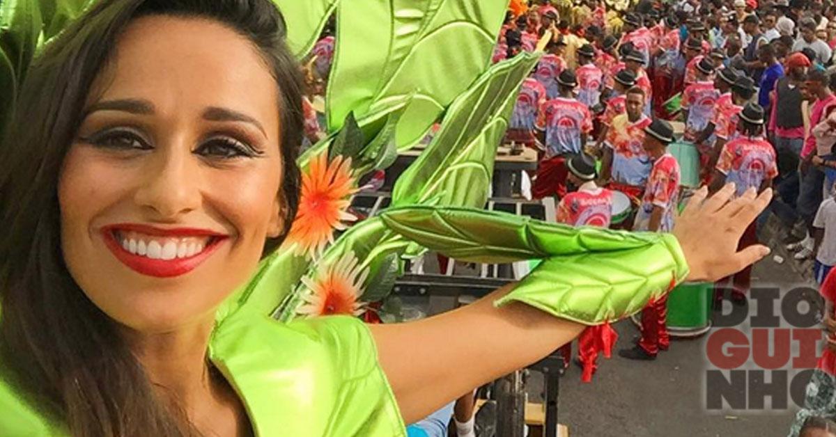 Photo of Rita Pereira desfilou no Carnaval de Cabo Verde (vídeo)