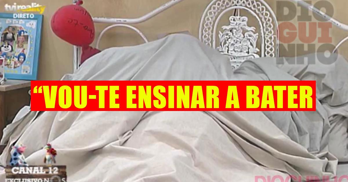 Photo of Tiago e Bibi montam a tenda e…