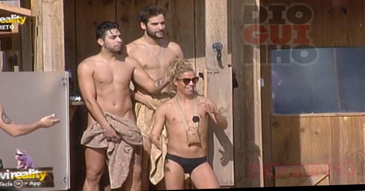 Photo of Daniel e Diogo Marcelino tomam banho juntos e dão SHOW Y.M.C.A style