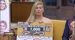 Tiago e Bernardina já ganharam