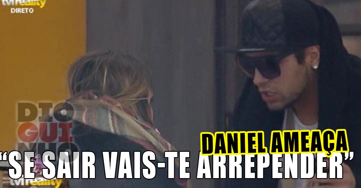 Photo of Daniel Gregório aziou com a namorada e ameaça