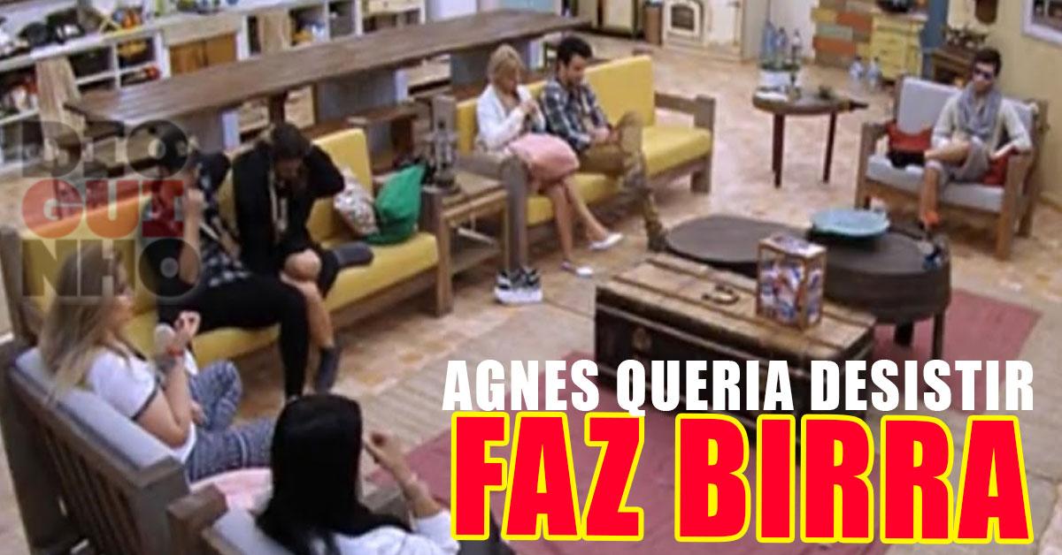 Photo of Cadeira Quente: Agnes Arabela fica danada, faz birra e quer desistir