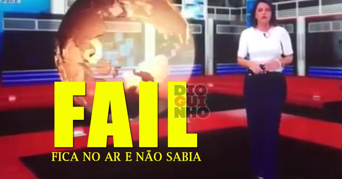 Photo of FAIL: Pivô da TVI fica no ar e não sabia