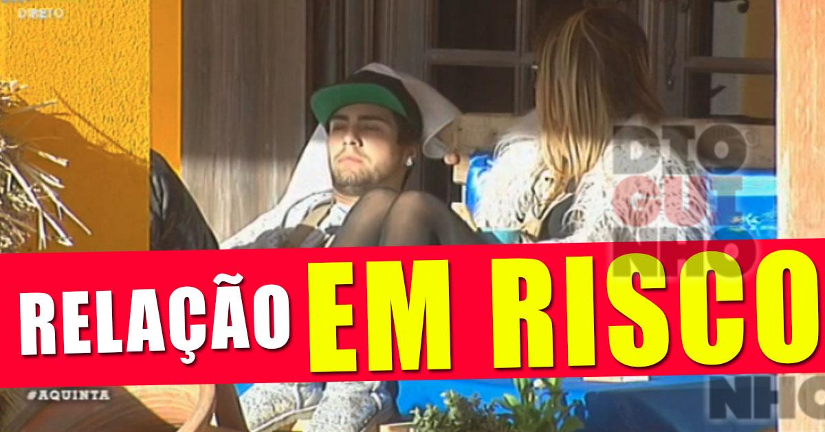 "Photo of Casal DaLI: Namoro em risco! ""sinto-me sufocado"""