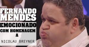 Fernando Mendes homenageia Nicolau Breyner