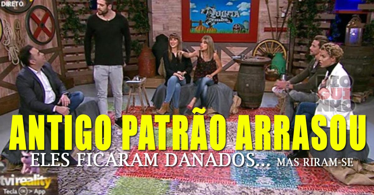 Photo of António arrasa concorrente em directo. Eles ficam na azia