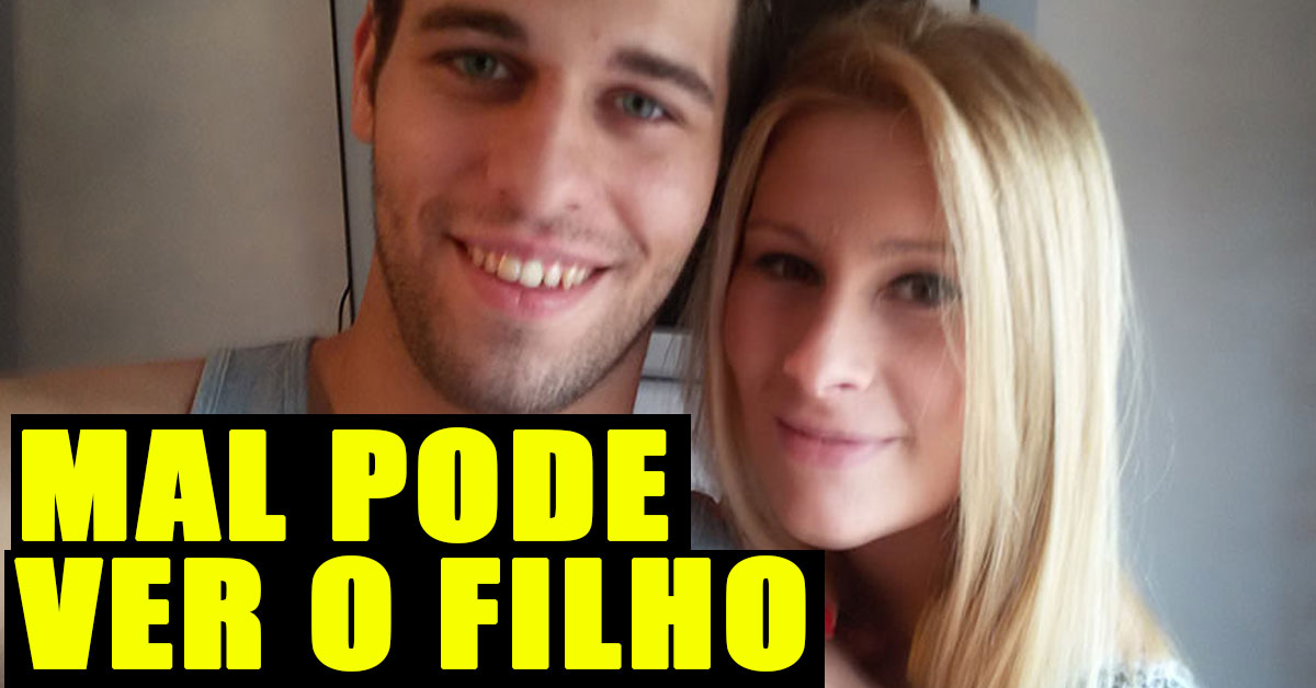 Photo of Tiago Ginga mal pode ver o filho
