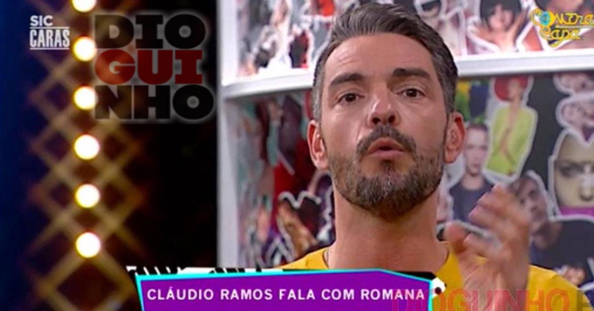 Photo of Cláudio Ramos garante que namoro de Romana e Santiago não vai durar muito tempo