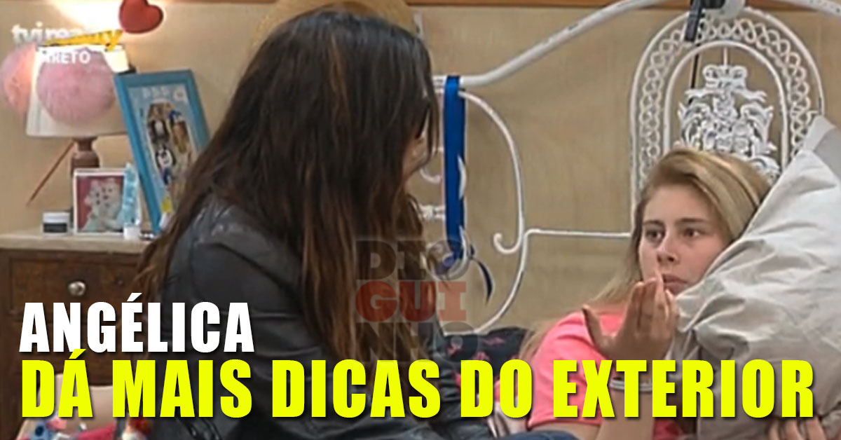 """Photo of Angélica deu mais dicas à Bibi. """"Foste noticia porque te enrolaste com Carlos Sousa"""""""