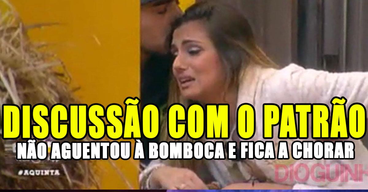 Photo of Liliana e Pedro Capitão discutem! Ela não aguenta e faz-se de coitadinha