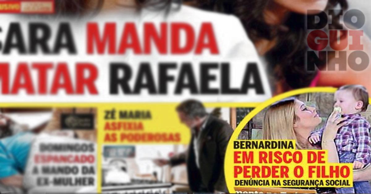Photo of Bernardina Brito pode perder o filho