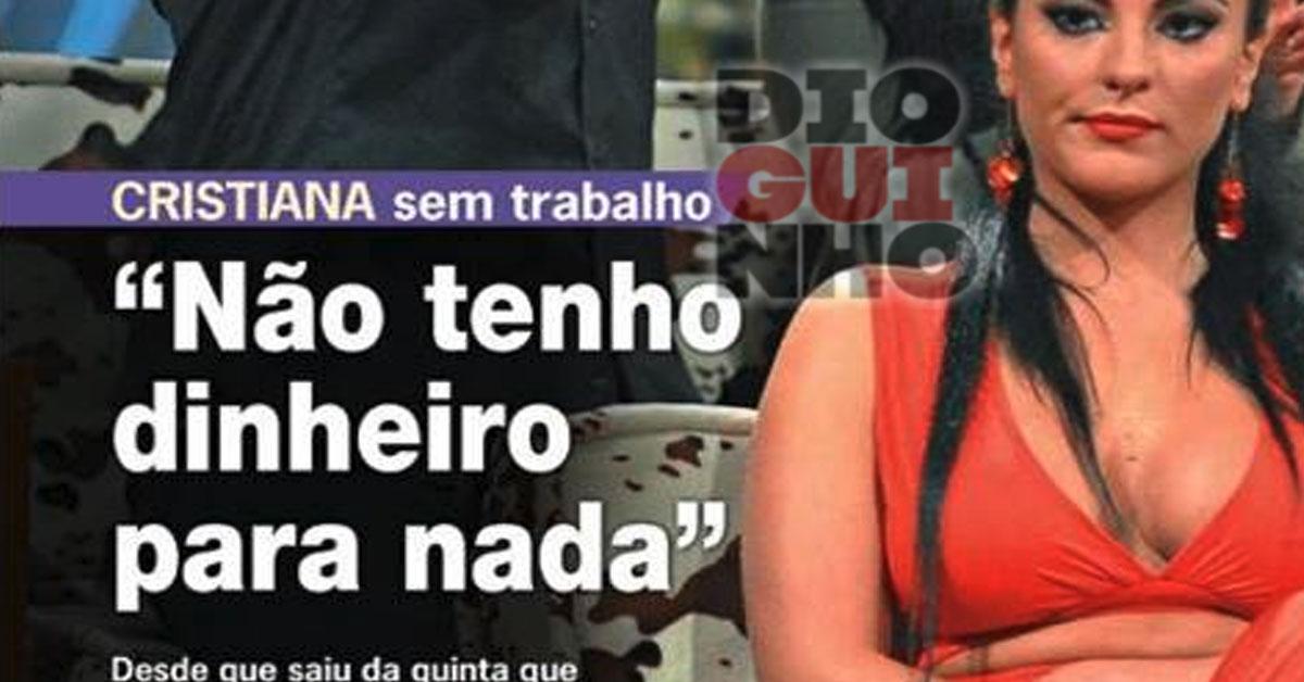 Photo of Cristiana Dionísio está na miséria