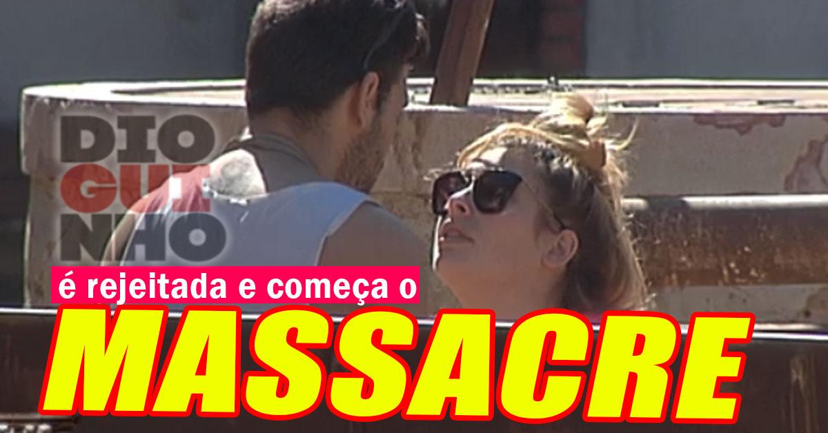 Photo of Tiago Ginga rejeita novamente a Bernardina Brito e é MASSACRADO