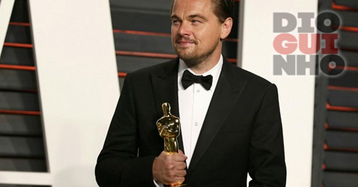 Leonardo DiCaprio esqueceu-se do Oscar num restaurante