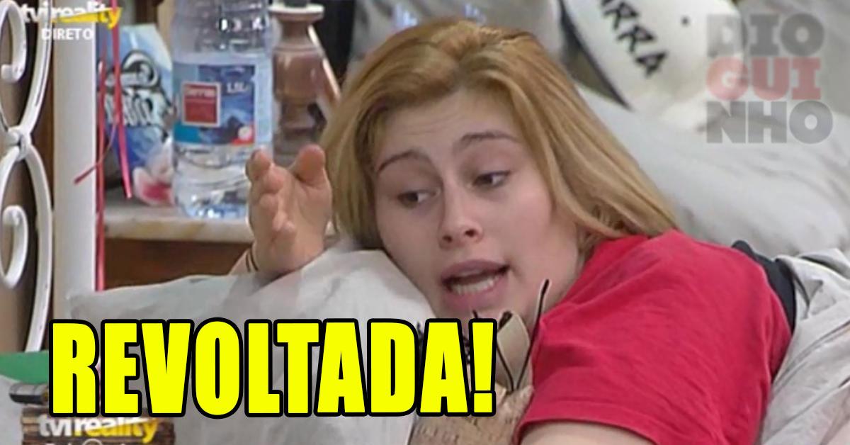 """Photo of Bernardina revoltada com Teresa Guilherme, """"vão para o caralh**"""""""