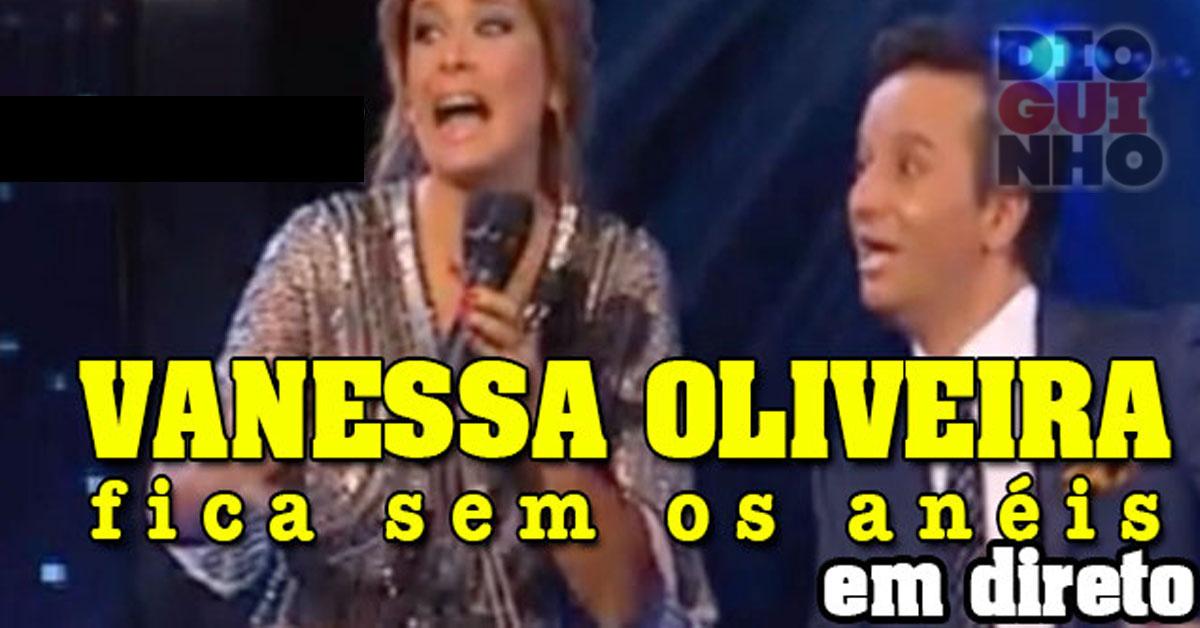 Photo of Vanessa Oliveira fica sem os seus anéis e não fica muito contente