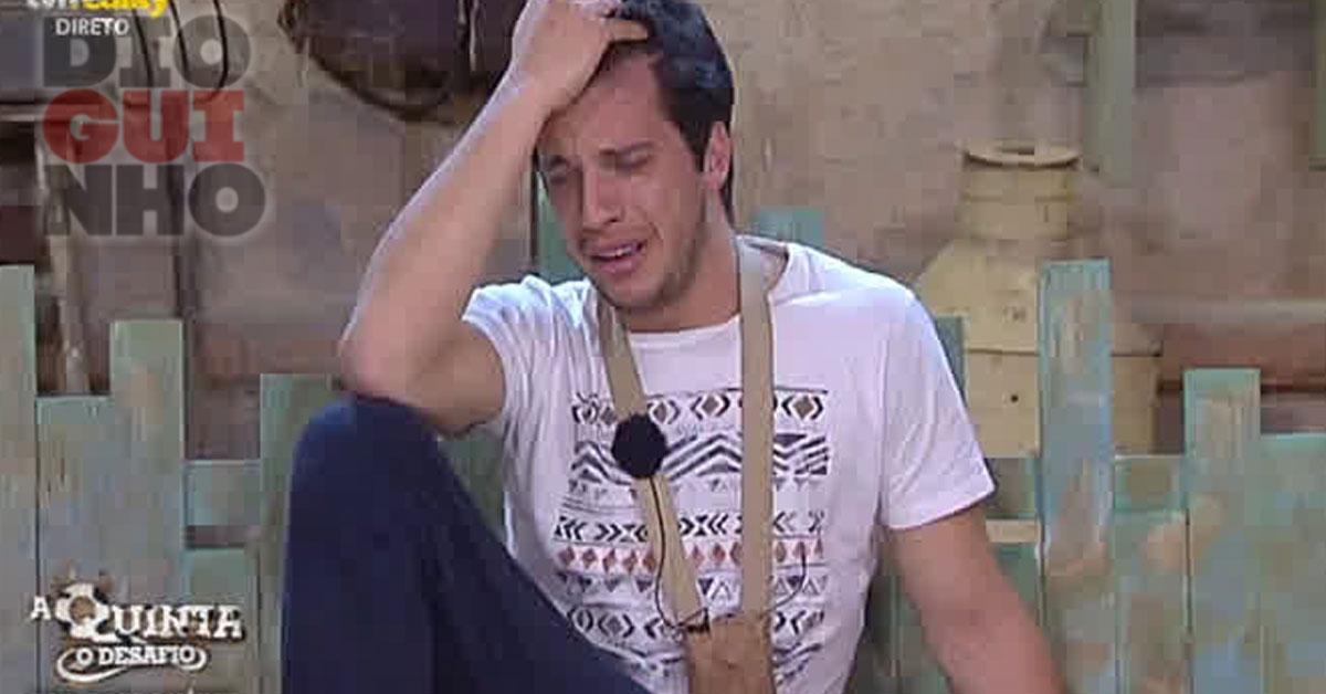 Photo of Luís Nascimento chorou baba e ranho no palheiro