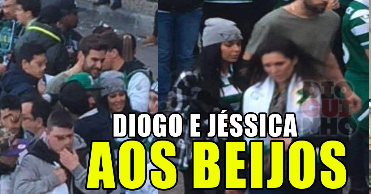 Photo of Jéssica e Diogo Marcelino novamente apanhados aos beijos