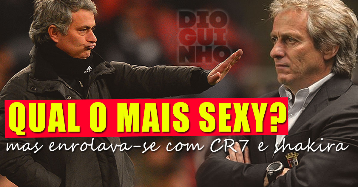 Photo of Mais Sexy: Jorge Jesus ou Mourinho? Shakira e CR7, ambos marchavam!