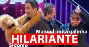 João Seabra trouxe o macaco Sidónio ao palco do Got Talent Portugal