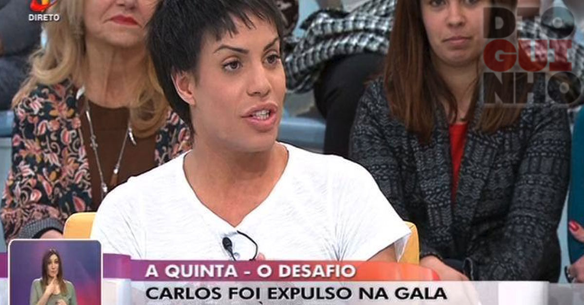 Photo of Carlos Costa vai ao «Você na TV» com visual arrojado