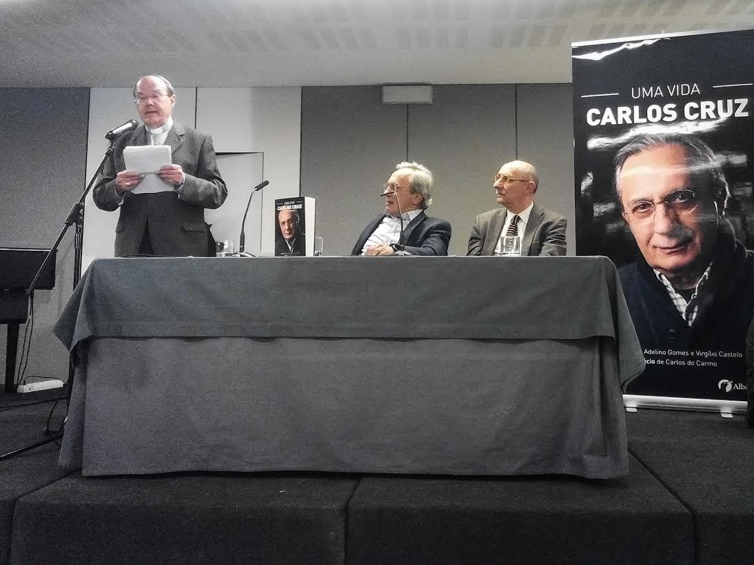 Carlos Cruz lançou autobiografia