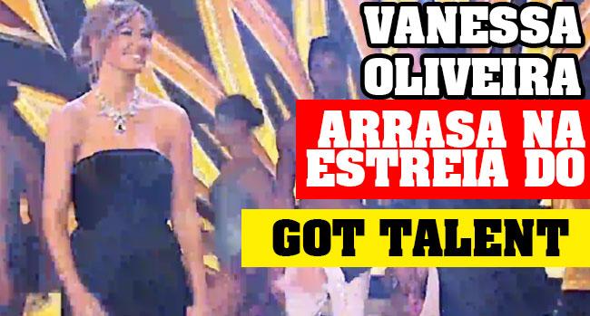 Vanessa Oliveira got talent portugal