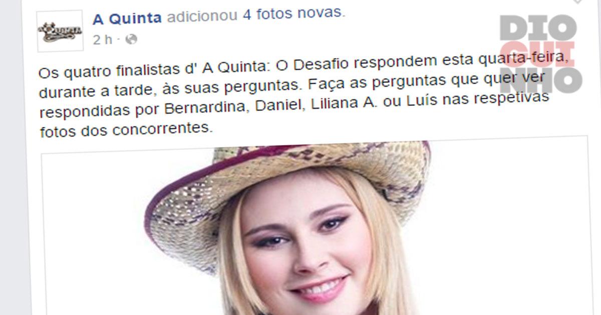 Photo of Bernardina é arrasada nas redes sociais