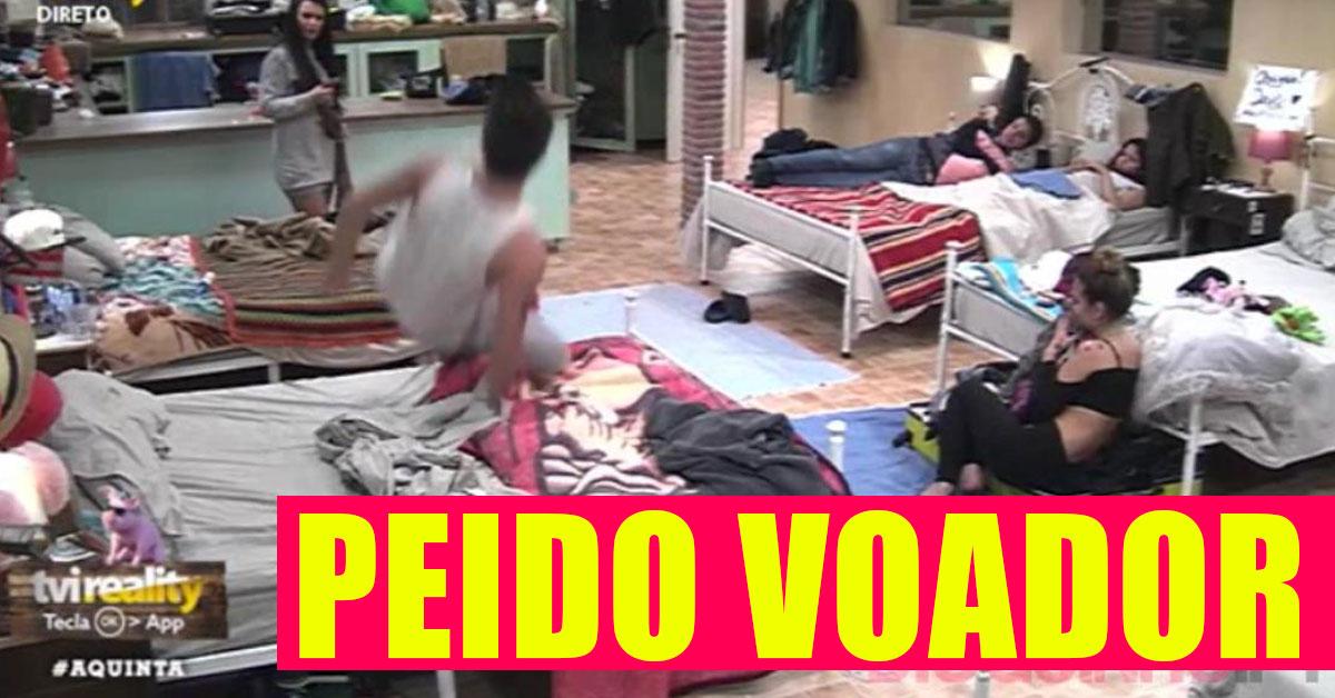 Photo of Tiago Ginga lança mais um peido voador