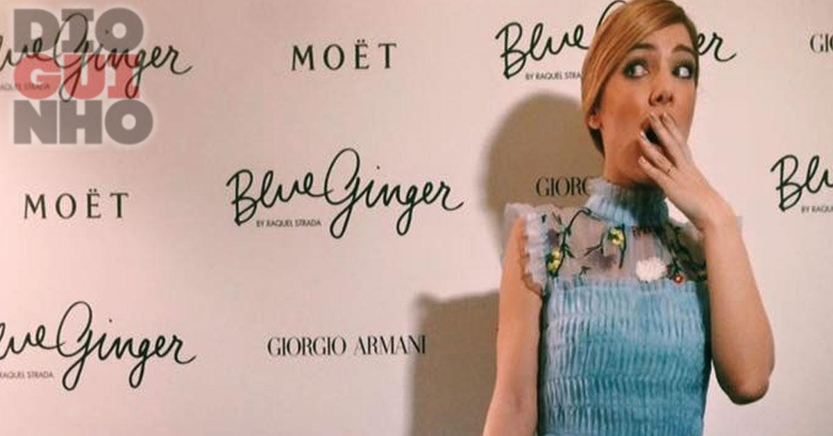 Photo of Raquel Strada lançou o seu blog oficial, e começou mal