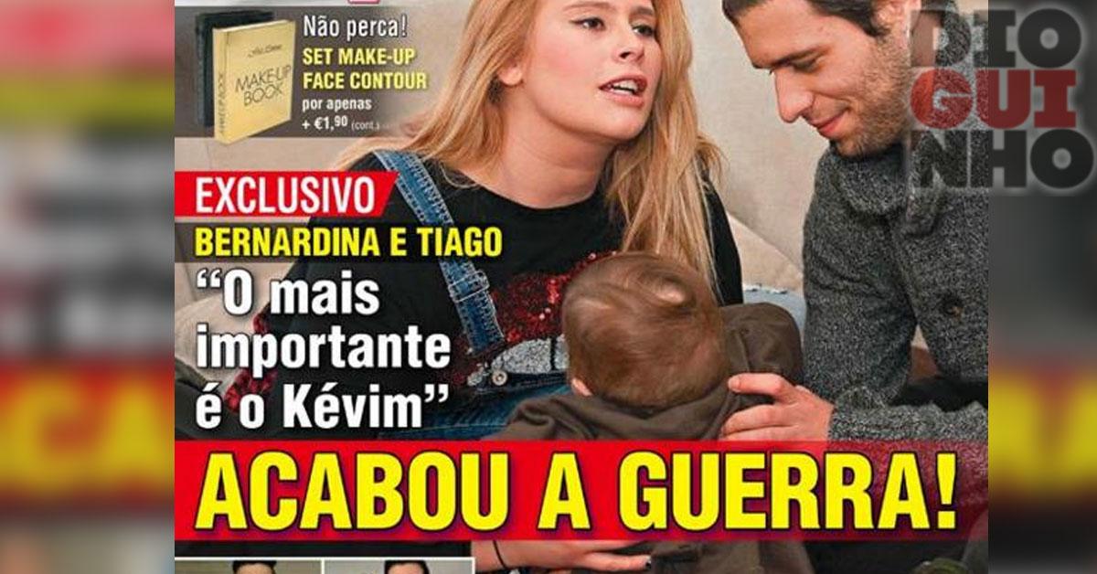 Photo of Acabou a guerra entre Bernardina e Tiago Ginga
