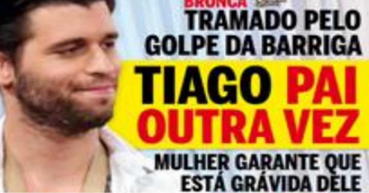 Photo of Tiago Ginga vai ser pai novamente