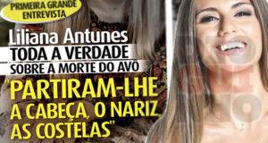 Liliana Antunes acusa