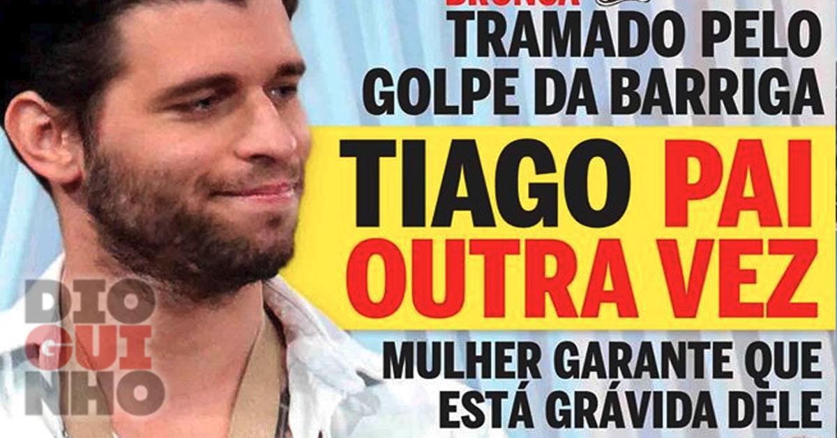 Photo of Tiago Ginga já viu o filho e não deverá ser novamente pai