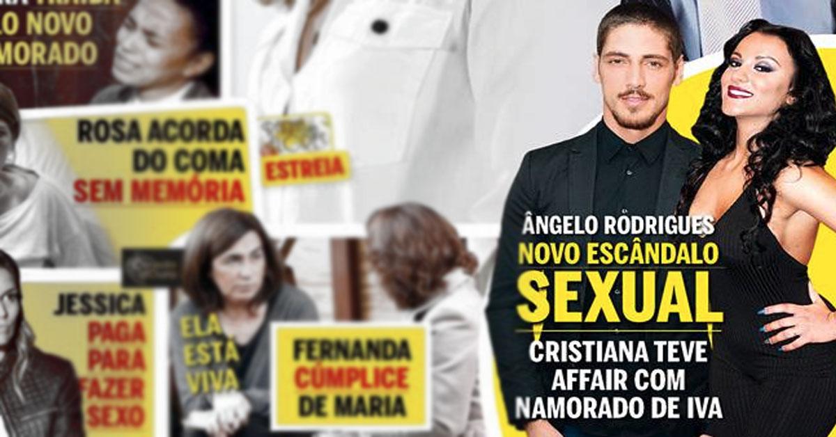 Photo of Ângelo Rodrigues andou enrolado com Cristiana Dionísio