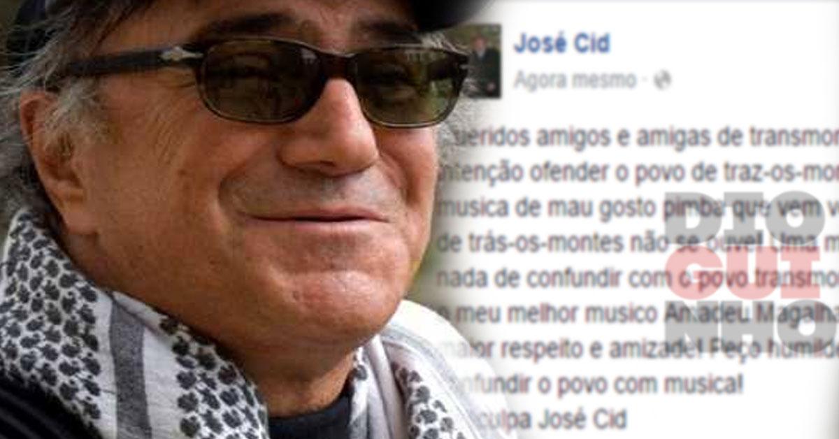 José Cid: José Cid Já Reagiu à Polémica Com Transmontanos