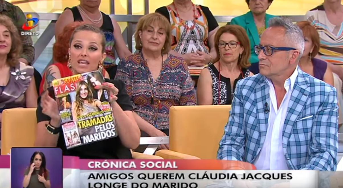 Photo of Bronca: Cristina Ferreira processa a revista FLASH!