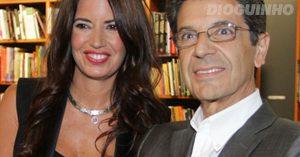 Barbara Guimarães e Manuel Maria Carrilho